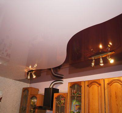 Комбинированные натяжные потолки