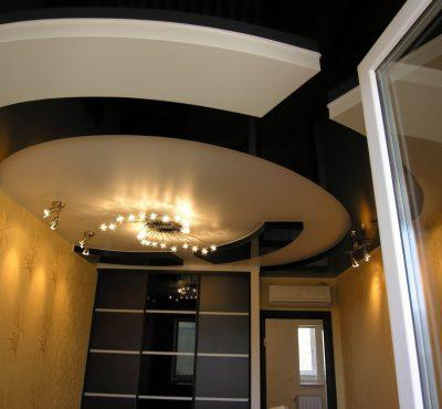 Натяжной потолок в стиле Модерн