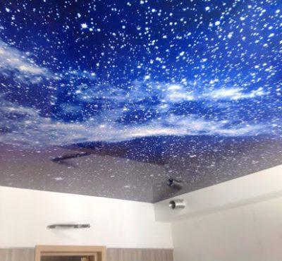 Натяжной потолок Звездное небо (6)